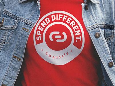 Apparel: Spendefy crest logo retail clothing fashion shirt tshirt print apparel graphic design digital marketing branding