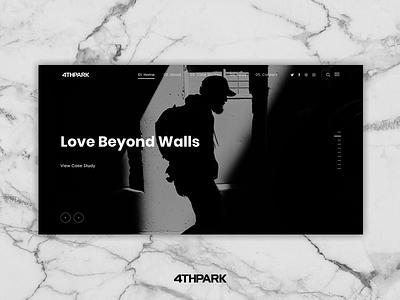 Case Study: Love Beyond Walls website web development web design ui user interface ux user experience digital marketing graphic design branding