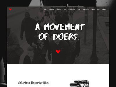 Website: Love Beyond Walls website web development web design ux user interface user experience ui graphic design digital marketing branding