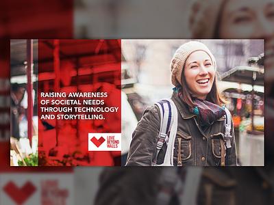 Ads: Love Beyond Walls advertisement ad graphic design digital marketing marketing branding