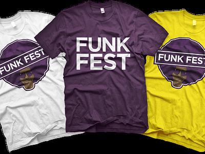 Apparel: Funk Fest logo apparel mockup apparel design apparel graphic design branding