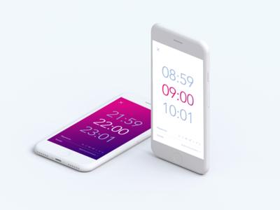 Alarm UI design