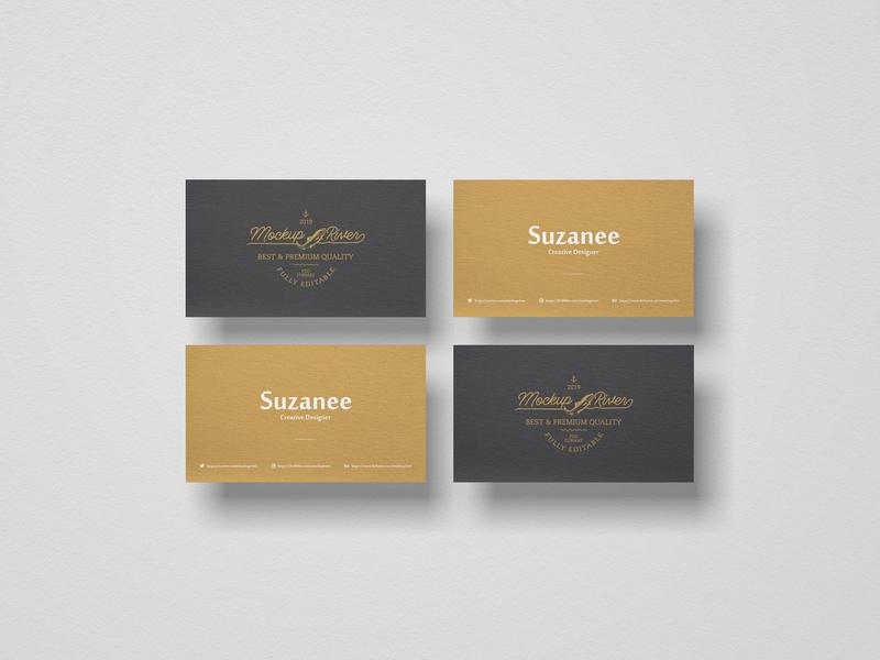 PSD Branding Business Card Mockup visual psd card free branding mockup business card