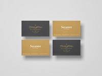PSD Branding Business Card Mockup