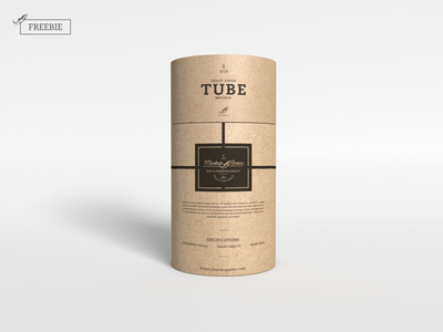 Craft Paper Tube Mockup paper tube mockup packaging mockup packaging download psd freebie free free mockup mock-up mockup