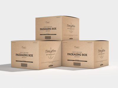 Cargo Delivery Packaging Box Mockup packaging design box mockup packaging packaging mockup psd print template stationery mockups logo identity freebie free mockup psd mockup free free mockup mock-up mockup download branding