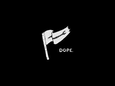 Dope Nation branding drawing hand illustration design illustration