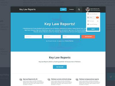 Key Law Reports law key reports ui ux minimalist responsive team-interloop