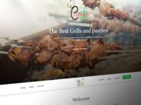 Cafeteria web design