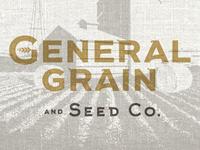 General Grain Logo + Packaging