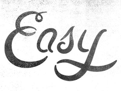 not so easy type by tavish calico dribbble dribbble