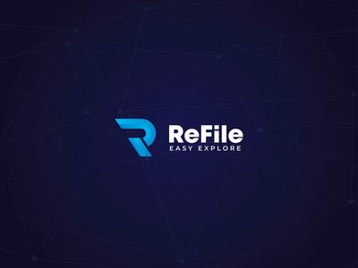 ReFile - Letter R Logo