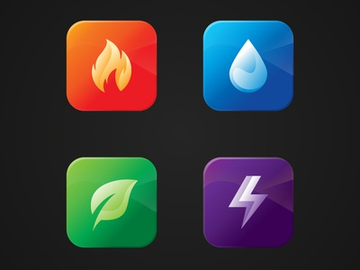 Element Icon Design