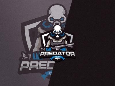 Predator - Esport Logo