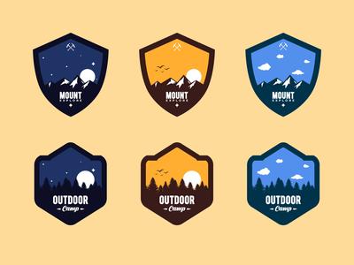 Outdoor Badge Logo