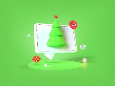 Christmas Chat 2020 trends trending design dribbble best shot 3d themes christmas card chat app snowflake 3d artist 3d illustrator 3dsmax 3d art chat christmas tree christmas