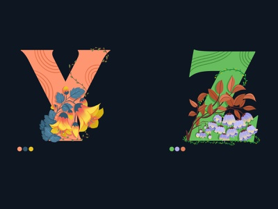 36daysoftype dribbble best shot typography colors digitalart artist uidesign flower illustration zodiac yellow design vector illustration
