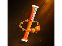 L'orange  poussière