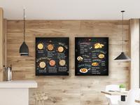 Pizza Menu Board Design