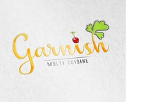 Garnish logo design