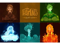 Elements Characters