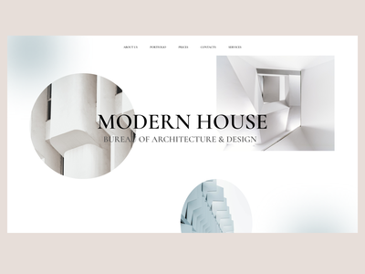 BUREAU OF ARCHITECTURE & DESIGN concept landingpage website design ui website ux webdesigner minimal user interface webdesign