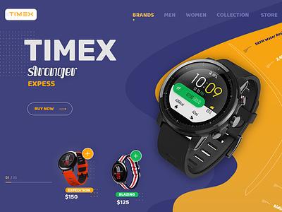 Watch Store Ecommerce Design -- UI / UX ecommerce design ecommerce website web vector typography design branding web  design ux-ui ux designer uidesigner uidesign minimalist illustration flatdesign