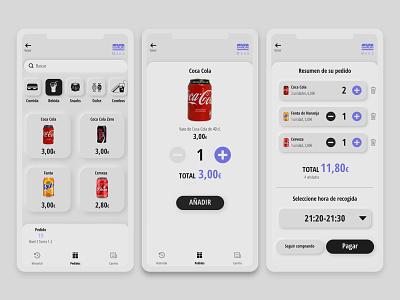 Neophormism UI white branding minimal interaction design app design ux ui neomorphism