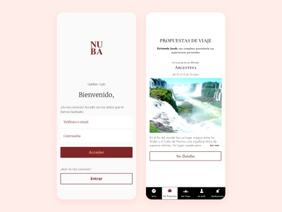App Design portfolio design portfolio white minimal interaction design app web design ux ui