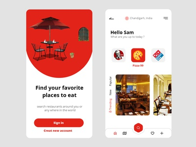 Find restaurants around you