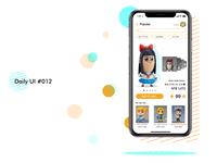 Daily UI challenge#012 E-Commerce Shop
