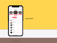 Daily UI challenge#019 Leaderboard
