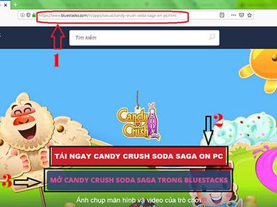 Cach choi Candy Crush Soda Saga tren may tinh hot nhat lang