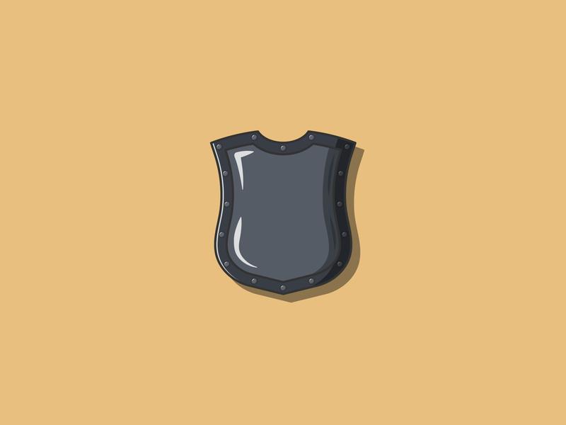 Medieval Shield Flat Illustration protection weapon medieval shield simple illustration simple illustrations illustration digital illustration design illustration art illustration flat illustrator flat illustrations flat illustration flat design flatdesign flat digital illustration