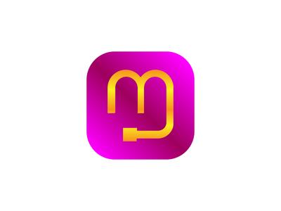 Communication Device + M Logo (Icon) Concept