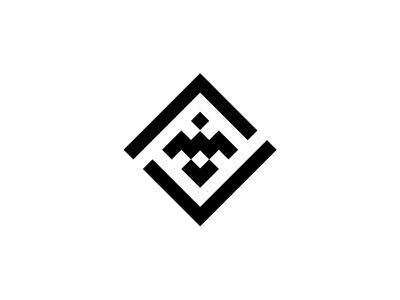 Gold Hawk Logo Black and White