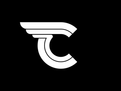 Nitro Tire C Logo Black and White