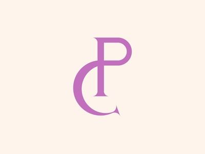 PC Serif Monogram Logo