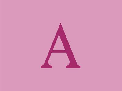 A Slab Lettermark Logo