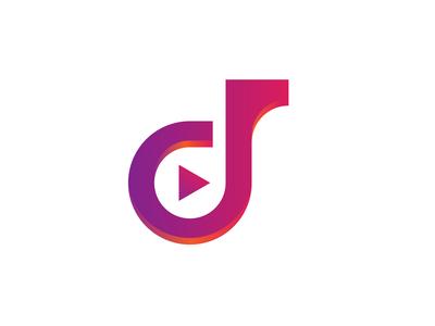 D Play Lettermark Logo