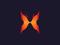 Flame Wing Logo