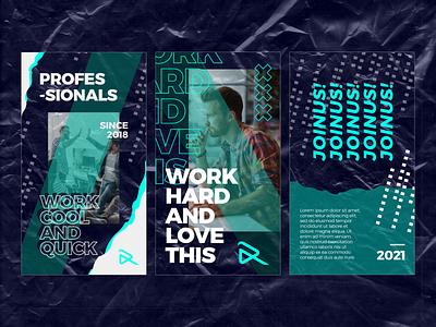 Modern instagram story storyboarding promo digital vector ux ui branding uiux portfolio graphic graphic design concept project design