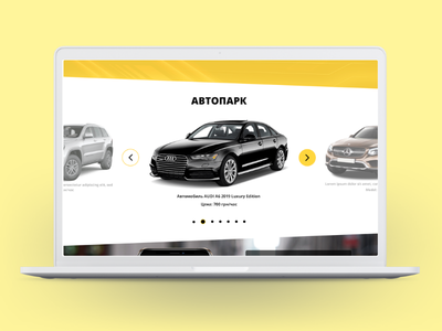 Vip taxi website, another part ux ui taxi design website site landing