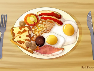 Fry design food illustration