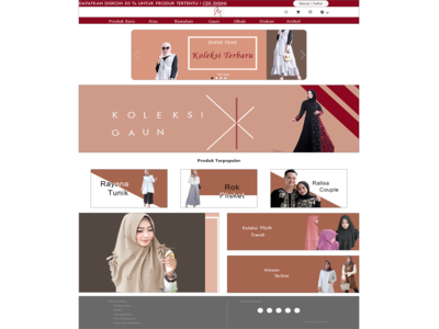 Desain Tampilan Awal E-Commerce