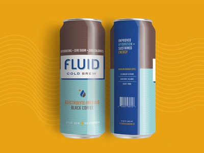 Fluid Cold Brew — Packaging
