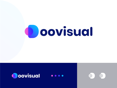 Doovisual Logo design agency design idea creative illustration doovisual logo