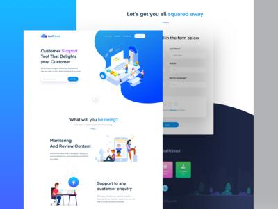 StaffCloud Website Design