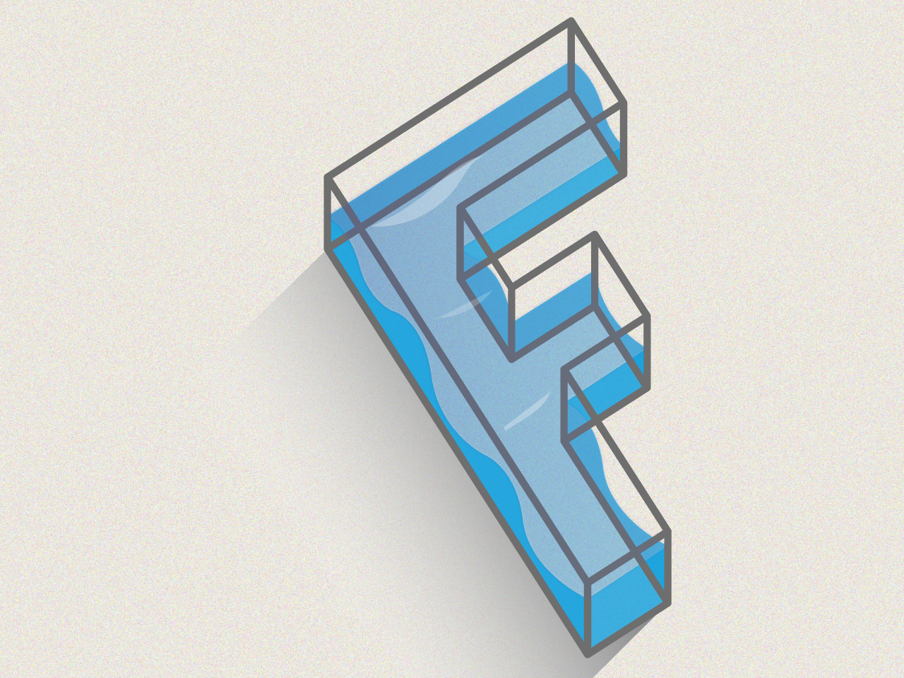 F - 36Days of type letter f illustrator vector artwork type lettering 36 days of type