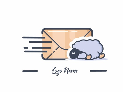 Logo Mail logotype icon logo vector